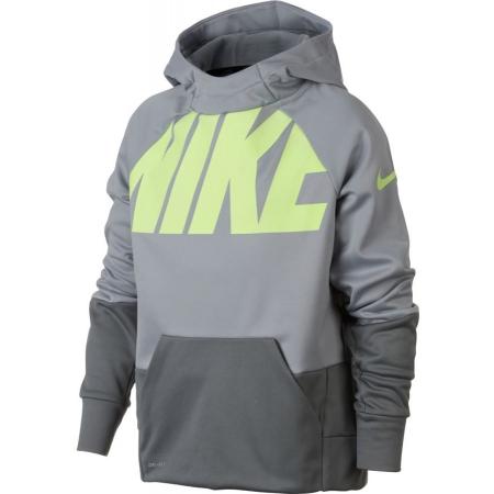 best website d025c 3c352 Bluza chłopięca - Nike THERMA TRAINING HOODIE - 1
