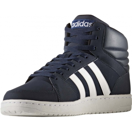 Pánské kotníkové boty - adidas VS HOOPS MID - 4
