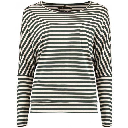 Dámske tričko s dlhým rukávom - O'Neill LW ESSENTIALS STRIPED TOP - 1