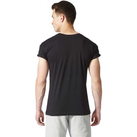 Koszulka męska - adidas ESS CATEGORY REGULAR TEE - 4