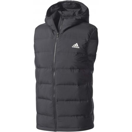 Men s outdoor vest - adidas HELIONIC DOWN HOODED VEST - 1 78d82b81a8