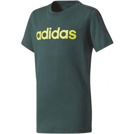 adidas LINEAR TEE - Boys' T-shirt