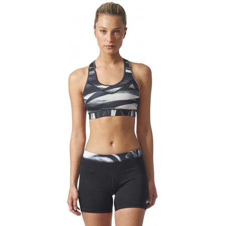 Women's sports bra - adidas TECHFIT BASE BRA PRINT - 3