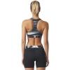 Women's sports bra - adidas TECHFIT BASE BRA PRINT - 4