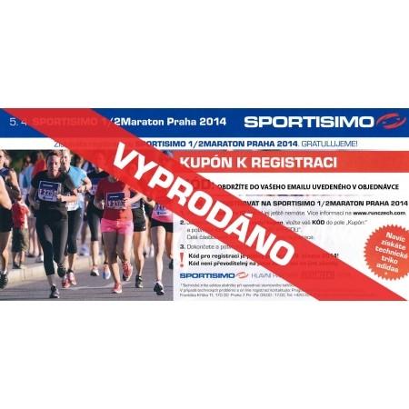 Sportisimo Půlmaraton Praha 2014 - Sportisimo CERTIFIKÁT - SPORTISIMO PŮLMARATON PRAHA