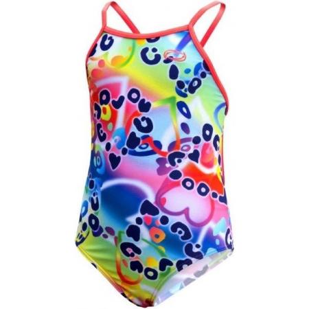 Dívčí sportovní plavky - Axis DÍVČÍ JEDNODÍLNÉ PLAVKY