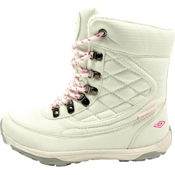Umbro HEIDI bílá 29 - Dětská zimní obuv