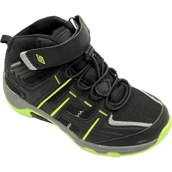 Umbro TANELI černá 31 - Dětská volnočasová obuv