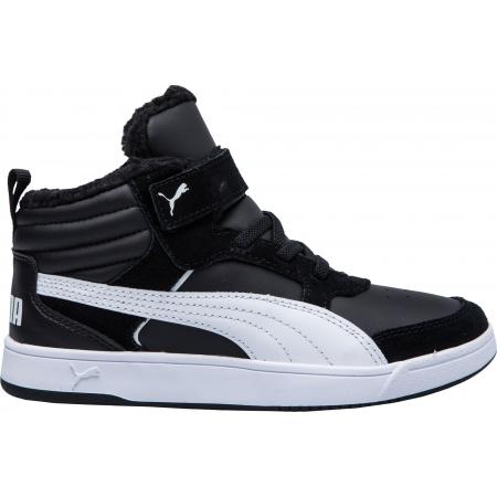 Detská voľnočasová obuv - Puma REBOUND STREET V2 FUR PS - 3 3977ce2f331