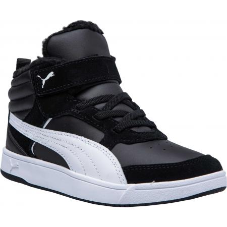 Puma REBOUND STREET V2 FUR PS - Detská voľnočasová obuv