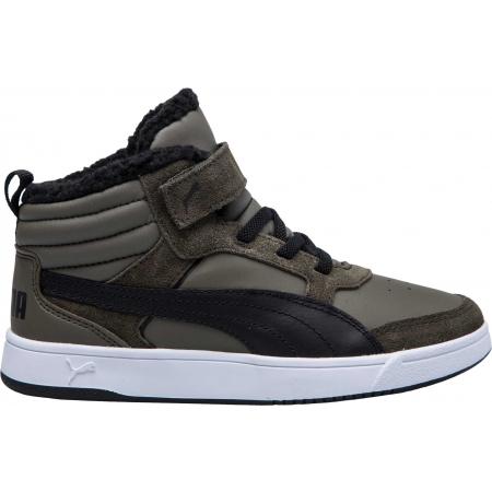 Dětská volnočasová obuv - Puma REBOUND STREET V2 FUR PS - 3