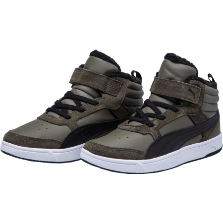 Detská voľnočasová obuv - Puma REBOUND STREET V2 FUR PS - 2