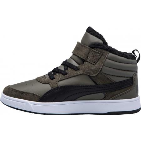 Dětská volnočasová obuv - Puma REBOUND STREET V2 FUR PS - 4