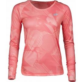 Lotto X RIDE II TEE LS PRT W - Dámské sportovní triko