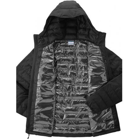 Pánska zimná bunda - Columbia POWDER LITE HOODED JACKET - 4