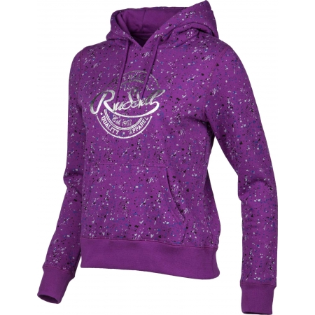 Dámská mikina - Russell Athletic HOODED SWEAT WITH ALLOVER PRINT - 2