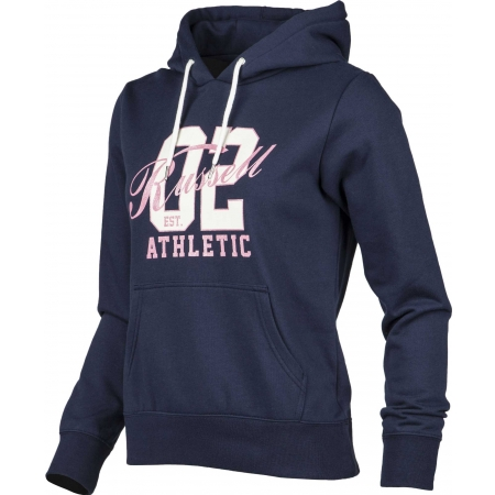 Dámská mikina - Russell Athletic HOODED SWEAT WITH GRAPHIC - 2