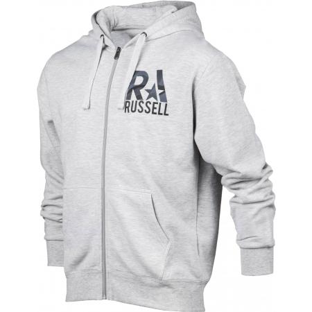 Pánská mikina - Russell Athletic ZIP - 2