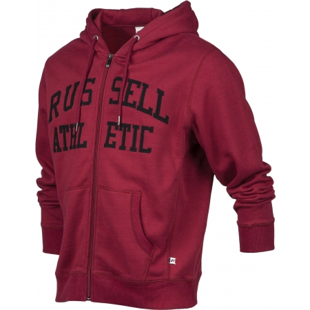 Pánská mikina - Russell Athletic ZIP THROUGH TACKLE TWILL HOODY - 2
