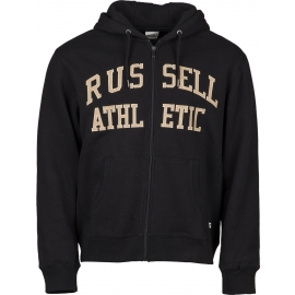 Russell Athletic ZIP THROUGH TACKLE TWILL HOODY - Мъжка  блуза