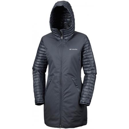 Dámska zimná bunda - Columbia SALCANTAY CASUAL MID JACKET - 2