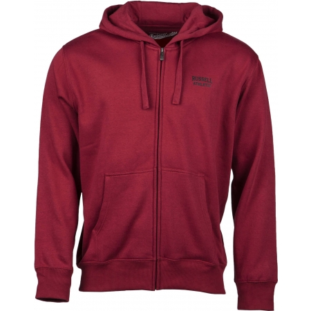 Pánská mikina - Russell Athletic ZIP THROUGH HOODY - 1