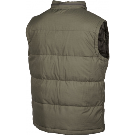 Men's vest - Russell Athletic SLEEVELESS PADDED JACKET WITH CONCEALED HOOD - 3