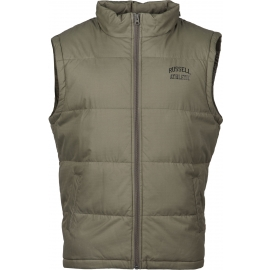 Russell Athletic SLEEVELESS PADDED JACKET WITH CONCEALED HOOD - Pánska vesta
