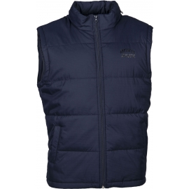 Russell Athletic SLEEVELESS PADDED JACKET WITH CONCEALED HOOD - Men's vest