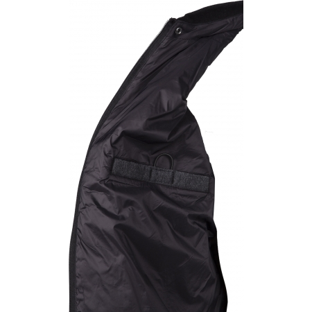 Pánská bunda - Russell Athletic CONTRAST SLV BOMBER - 4