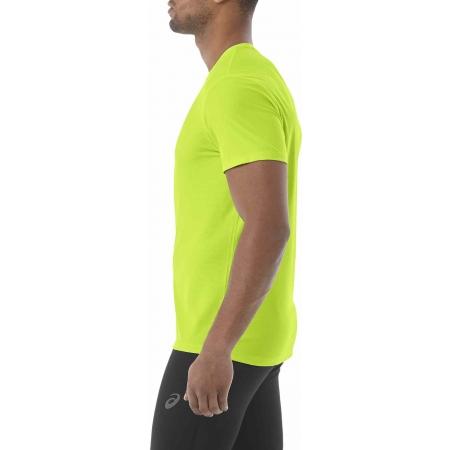 Мъжка тениска за бягане - Asics SS TOP BLACK - 5