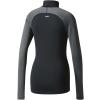 Dámské tričko s dlouhým rukávem - adidas TF TOP LS HZ W BLACK - 2