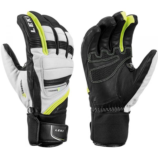 Leki GRIFFIN PRIME S černá 9.5 - Sjezdové rukavice