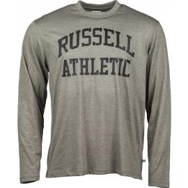 Russell Athletic ICONIC ARCH LOGO - Pánské triko s dlouhým rukávem