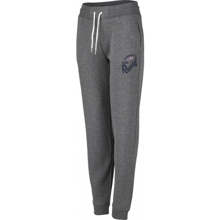 Dámské tepláky - Russell Athletic CUFFED PANT WITH GRAPHIC - 1