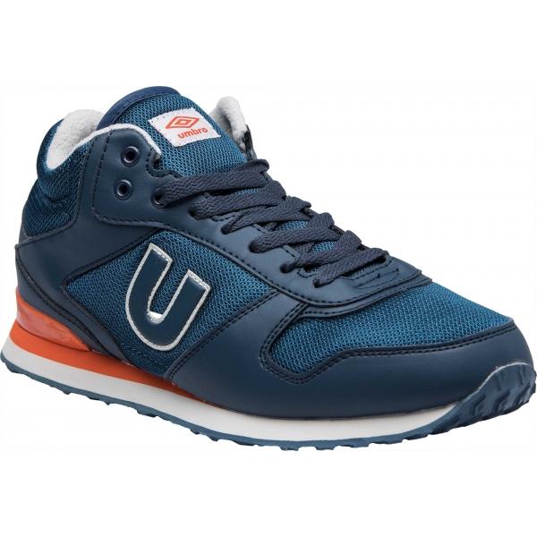Umbro TRAFFORD II MID narancssárga 12 - Férfi szabadidőcipő