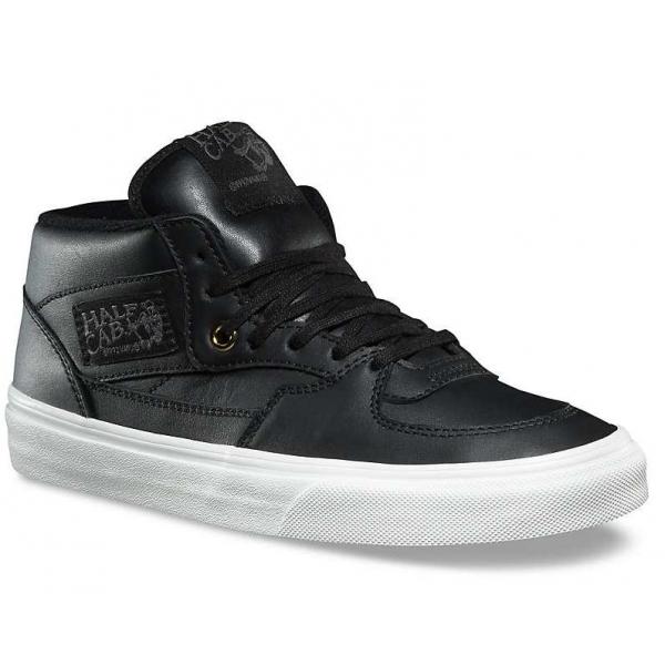 Vans HALF CAB DX (LEATHER) fekete 7 - Női cipő