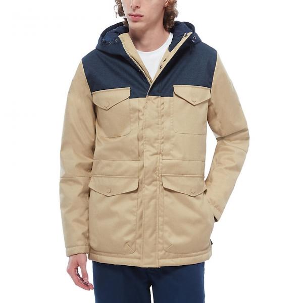 Vans WOODMOOR béžová M - Pánska zimná bunda