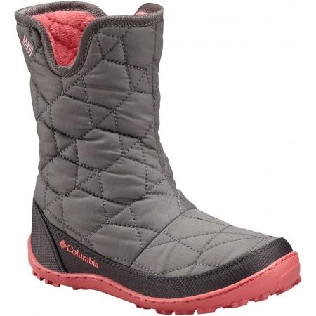 Dětská zimní obuv - Columbia YOUTH MINX SLIP OMNI-HEAT WATERPROOF - 1 52b89319bb