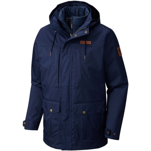 Columbia HORIZONS PINE INTERCHANGE JACKET - Pánska zimná bunda 2v1