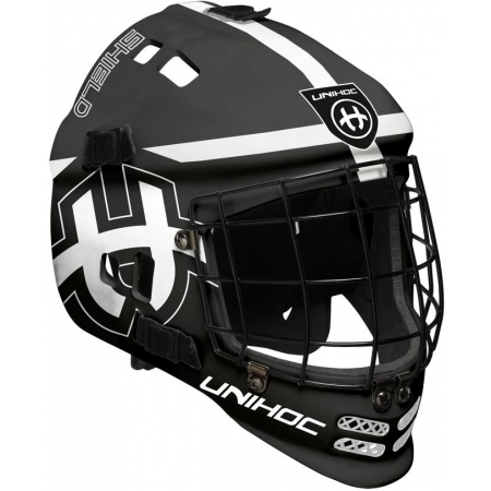 Unihoc MASK SHIELD - Kids' floorball helmet