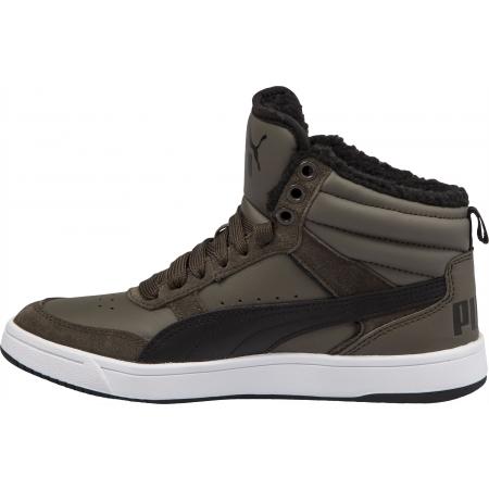 Detská voľnočasová obuv - Puma REBOUND STREET V2 FUR JR - 4 dc4672c8a58