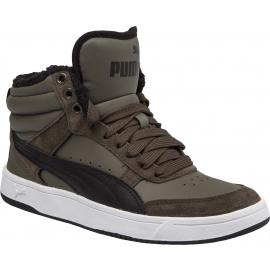 Puma REBOUND STREET V2 FUR JR - Detská voľnočasová obuv