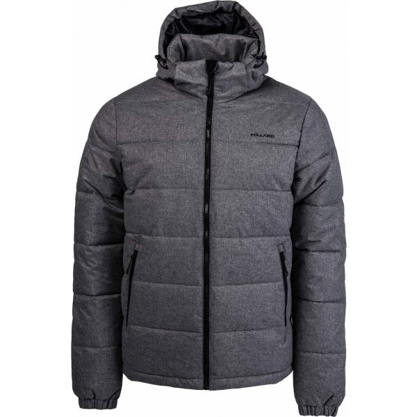 Willard PIERCE tmavě šedá XL - Pánská prošívaná bunda