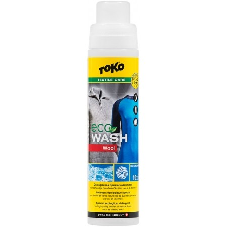Toko ECO WOOL WASH 250 ML - ECO washing powder