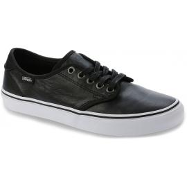 c8d0c1af0ac Vans WM CAMDEN DELUXE Leather Black - Dámské nízké tenisky