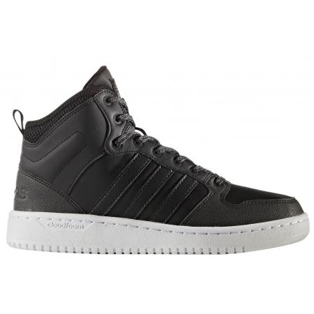 Dámská lifestylová obuv - adidas CF HOOPS MID WTR W - 1