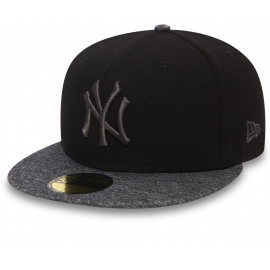 New Era 59FIFTY GREY NEW YORK YANKEES - Baseball sapka