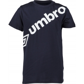 Umbro LINEAR LARGE LOGO GRAPHIC TEE JNR - Dětské triko