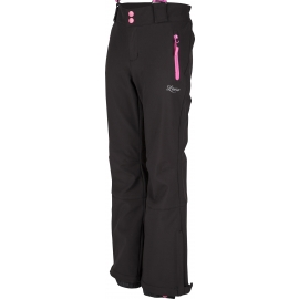 Lewro LONDON 140-170 - Girls' ski softshell trousers